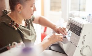 serger sewing